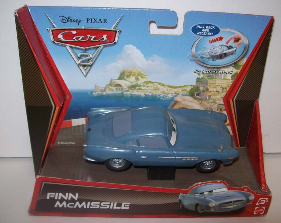 CARS 2 Disney 4 Pull Back Holly Finn Francesco Jeff NEW 2010 | eBay