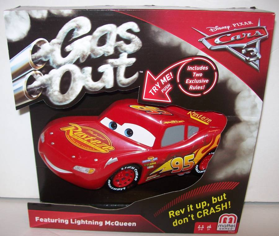 cars gas out game 1