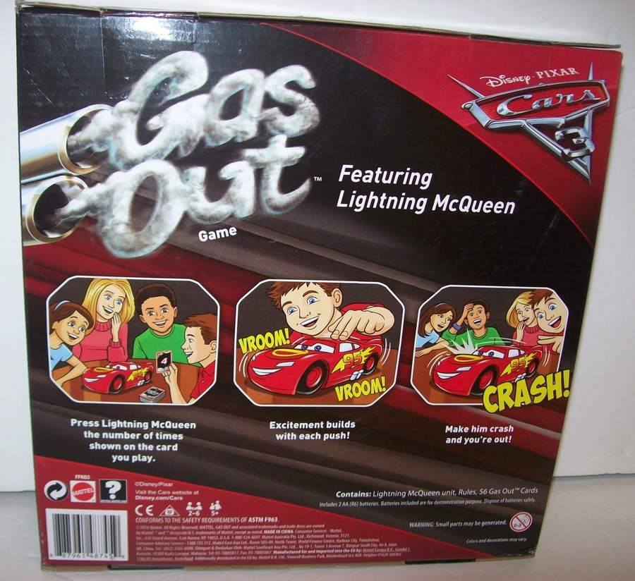 cars gas out game 2