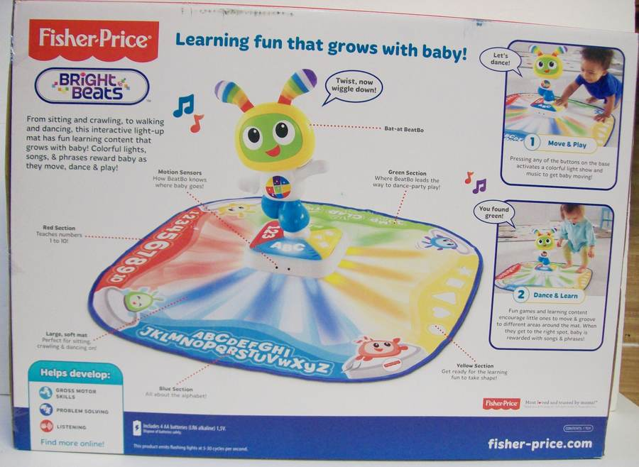 Details about Fisher-Price Bright Beats Toddler Learnin' Learning Lights  Dance Mat NEW