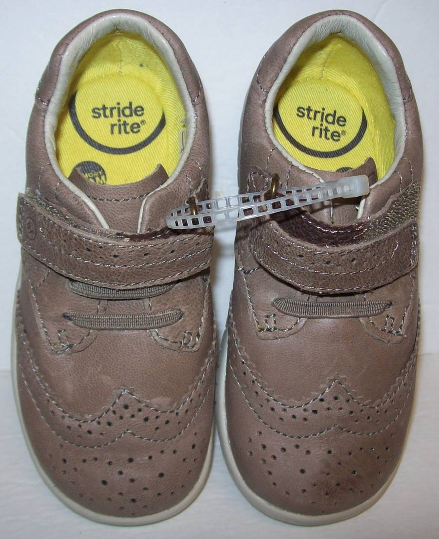 Tyco Brown Box: Stride Rite Addison Brown Leather Shoes