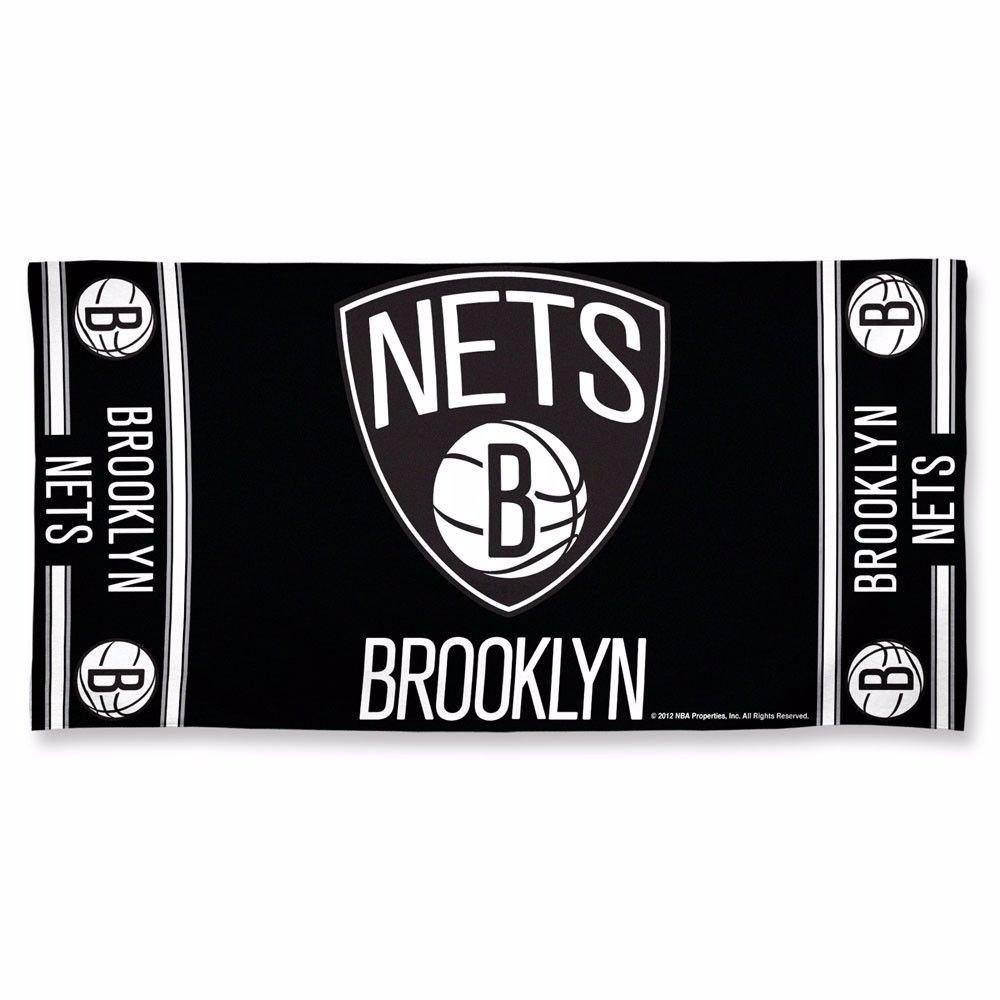 "Brooklyn Nets NBA Logo Approx. 30""x60"" Fiber Reactive"
