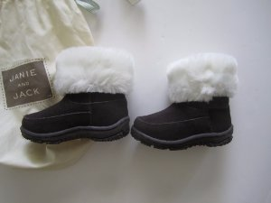 NWT JANIE /& JACK Gingerbread Spice BOOTIES BOOTS SZ 2