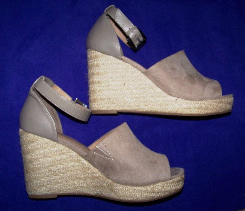 4b78597111f Details about BIG BUDDHA WOMENS BEIGE WEDGE SANDAL SHOES WOMENS Size 11