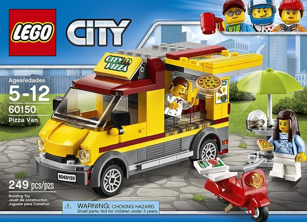 Details About New Lego City Pizza Van 60150 Truck Scooter Kitchen Chef Customer Sealed Box Nib