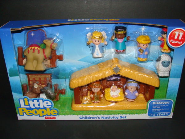 Details About New Little People Nativity Set Baby Jesus Manger Kids Toy A Christmas Story Nib