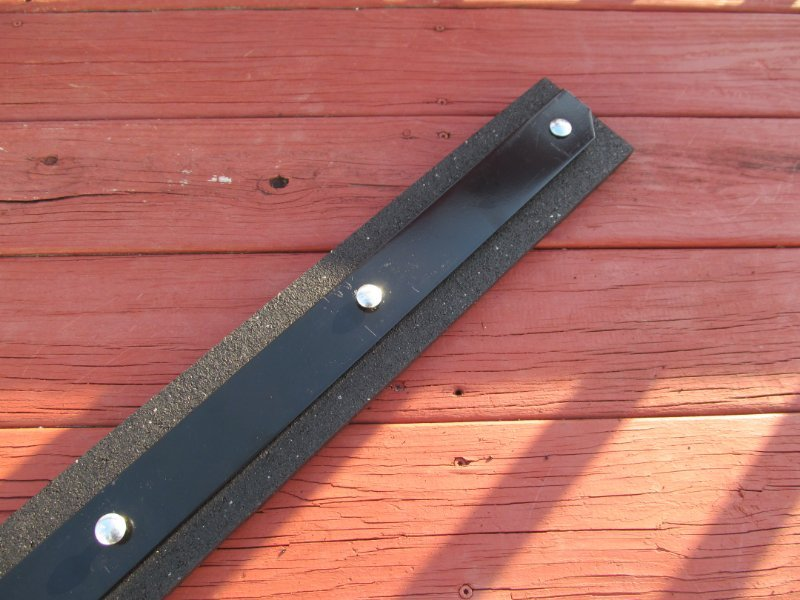 Craftsman Lawn Mower Snow Plow : Craftsman lawn tractor mower quot x snow plow rubber