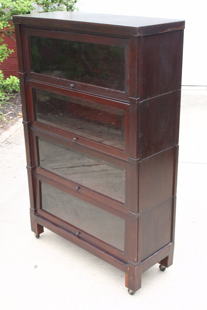 barrister in your bookcases neat doors furniture way white antique shaker bookshelves with belongings put metal glass bookcase