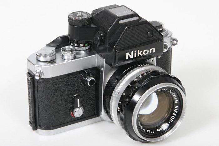 nikon f2 camera w dp 2 35mm manual slr 50mm f1 4 nikkor lens ebay rh ebay com nikon f2 photomic user manual nikon f2 photomic instruction manual
