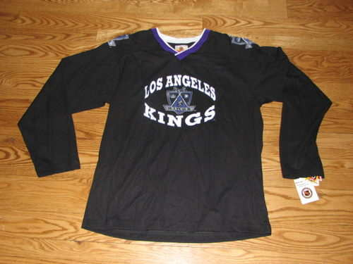finest selection 641e0 55e71 Details about NEW Boys LA Los Angeles Kings NHL Youth Jersey Size Shirt XL  18 L.A. X-Large