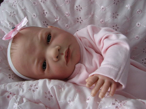 Made To Order Stunning Reborn Baby Girl Anna Newborn Child Friendly 3