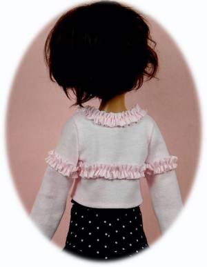 skirt vest BJD MSD Pattern for Kaye Wiggs/' MSD; peasant blouse sweater /& more
