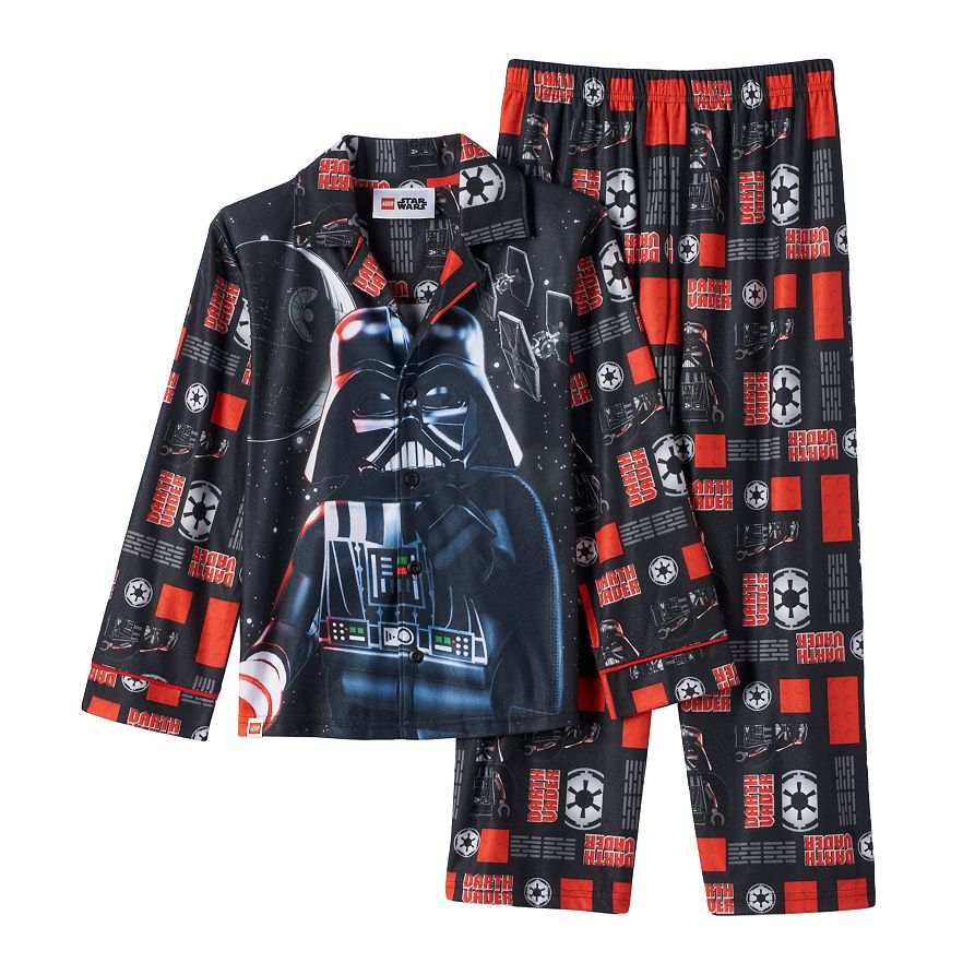 Star Wars Darth Vader Storm Trooper Flannel Type Pajamas Size 8 or 12 NWT $36 RV