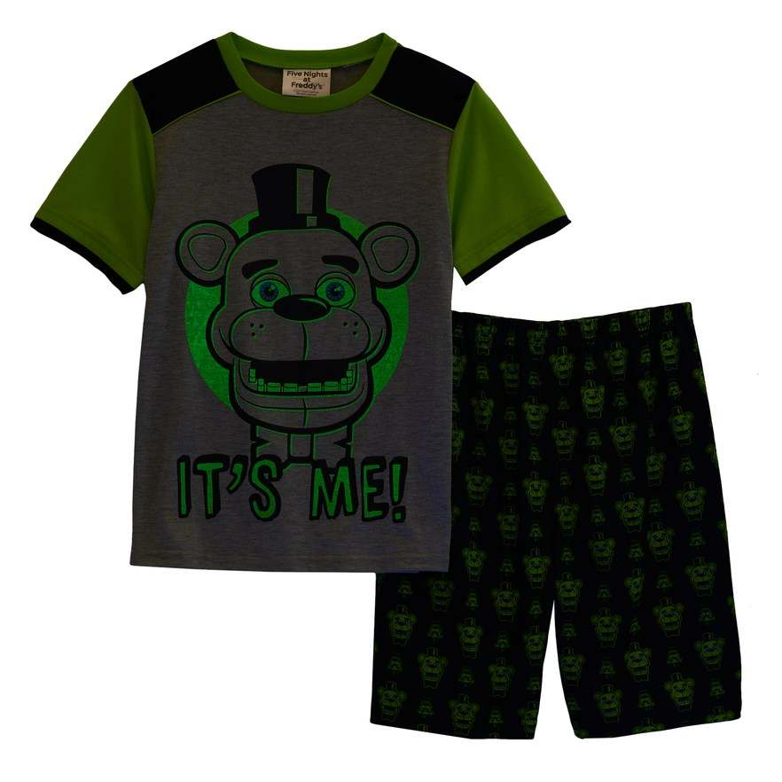 Five Nights At Freddy/'s Glow In The Dark Pajama Set 6-8 10-12 NWT