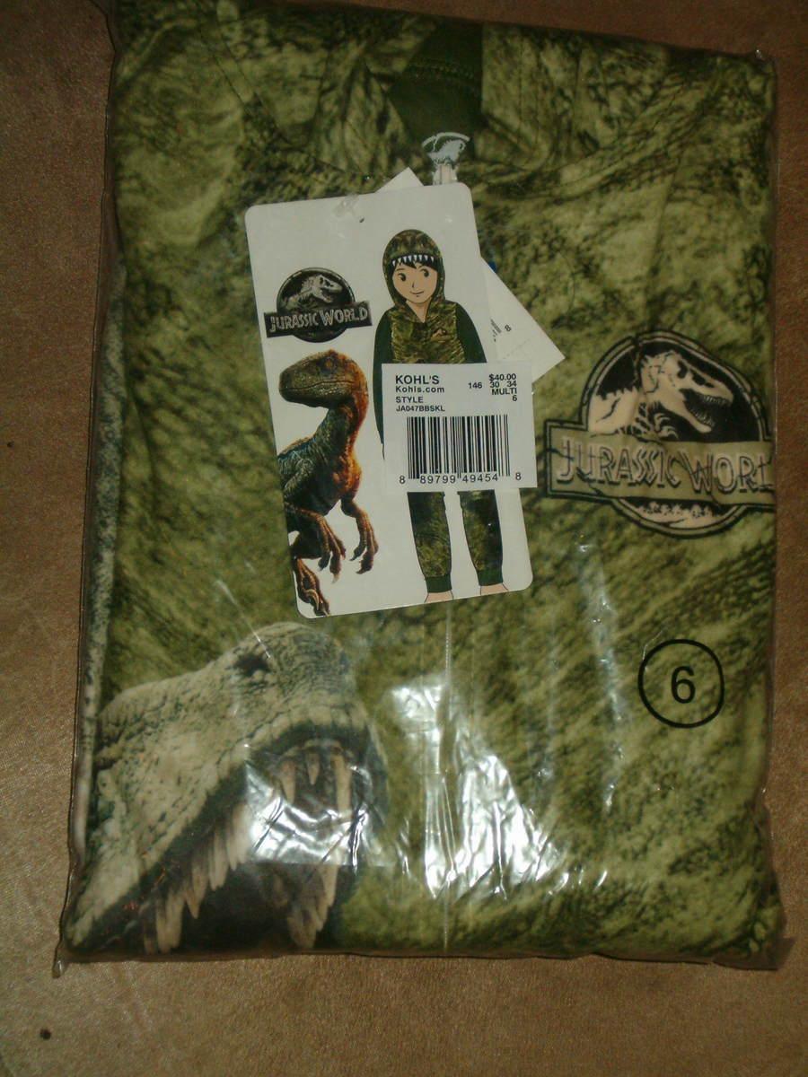 12  NWT $40 RV Captain America Costume Union Suit Sleeper Pajamas Size 8-10