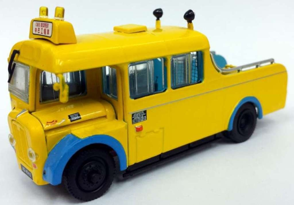 Guy Arab CMB S10 Route 13 1//76 ASIA BUS Blue//Cream