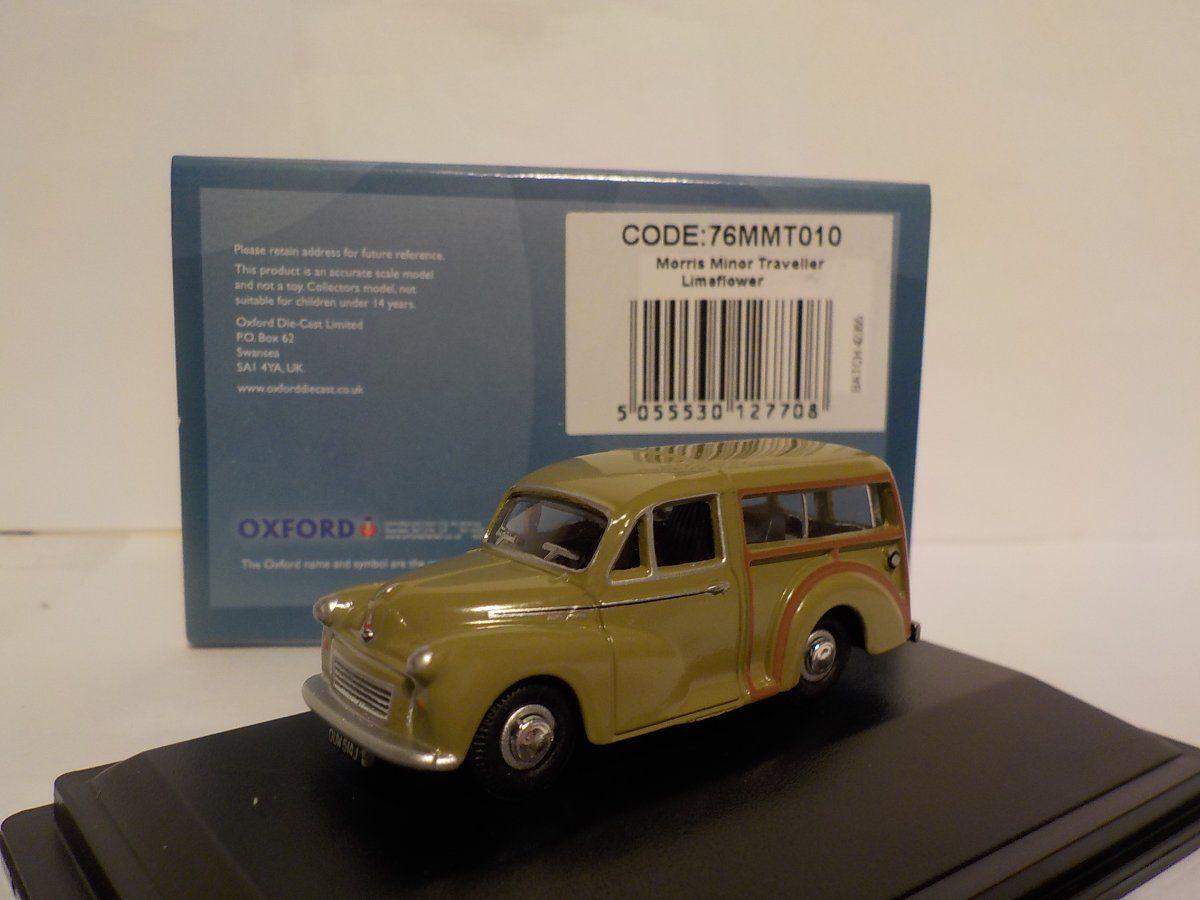 Green Model Car Morris Traveller 1//76 New