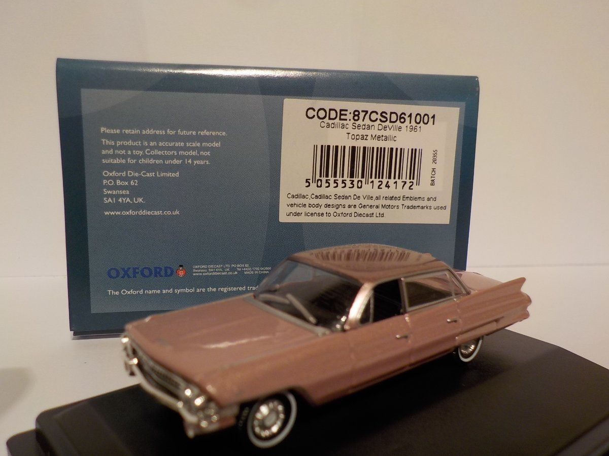 Fabulous Postage deals American Cars 1//87 Scale Brand NEW Oxford Diecast. .