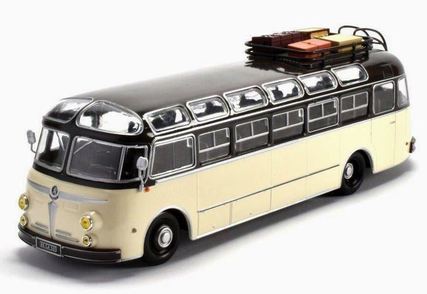 ISOBLOC 648DP Modelo Bus 1:43 Escala Ixo Francia 1955 Coach