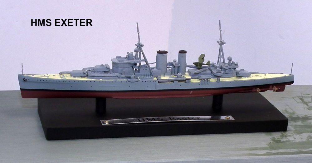 Silver Toned Battleship Magnet