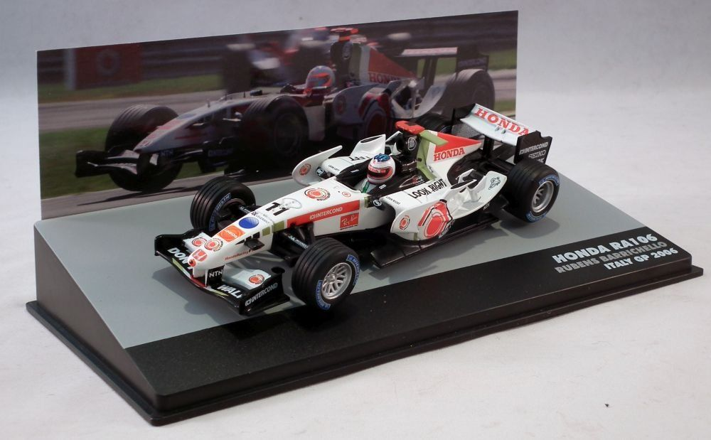 1//43 2009,F1 coches Brawn GP Mercedes BGP 001-Barrichello-P3-Australia GP