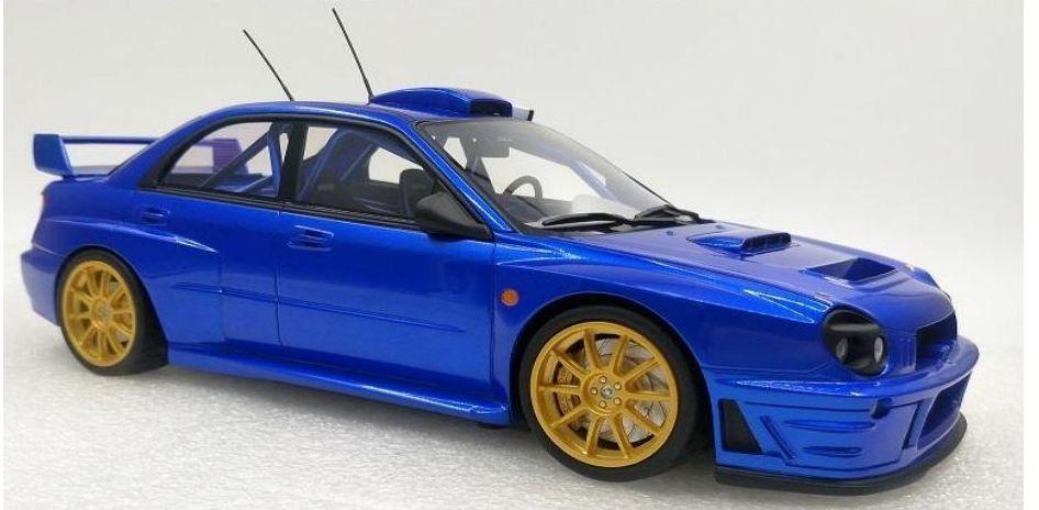 Subaru Impreza Plain Blue