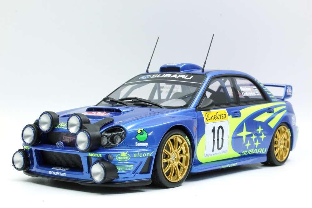1:43 Atlas SUBARU IMPREZA WRC #10 Rally Monte Carlo 2002