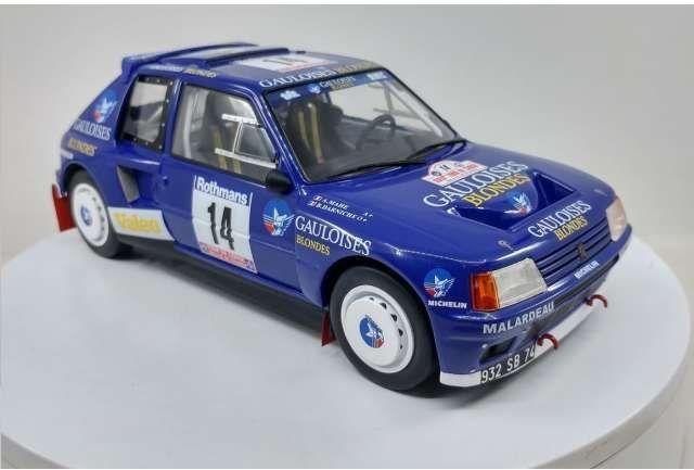 Peugeot 205 t16 Rally de Monte Carlo 1985 saby fauchille 1:18 Ixo nuevo