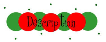 """10 Yards Christmas Red Green Double Polka Dot Acetate Ribbon 3//4/""""W"""