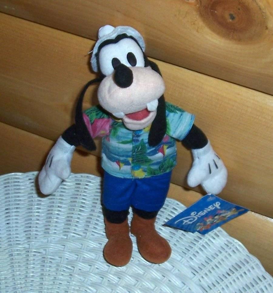 Disney Mickey\'s Goofy Plush Dressed 10\