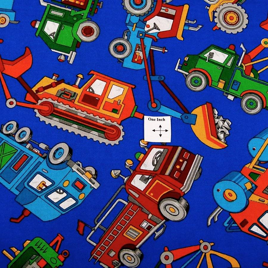 worker men 39 s trucks for kids cotton fabric by cranston