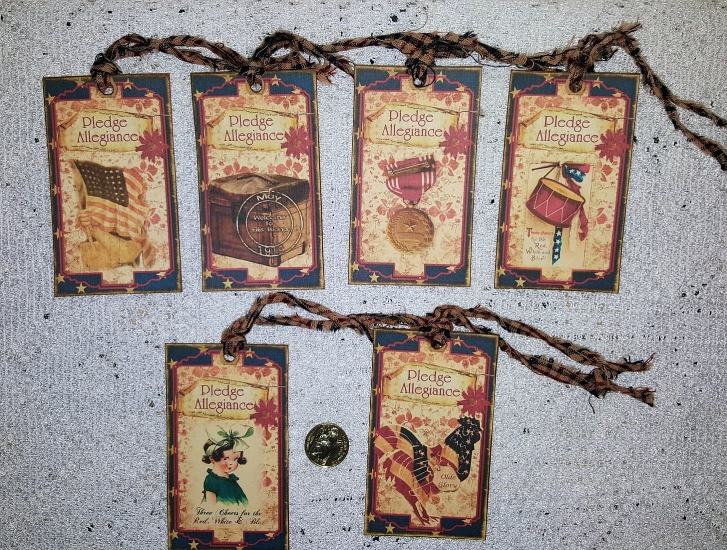 6~Halloween~Primitive~Cat~Kitty~Fall~Fussy Cut~Linen Cardstock~Gift~Hang~Tags