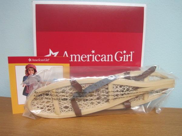 New American Girl Kirsten Accessories Retired NIB New in box keepsake Complete!!