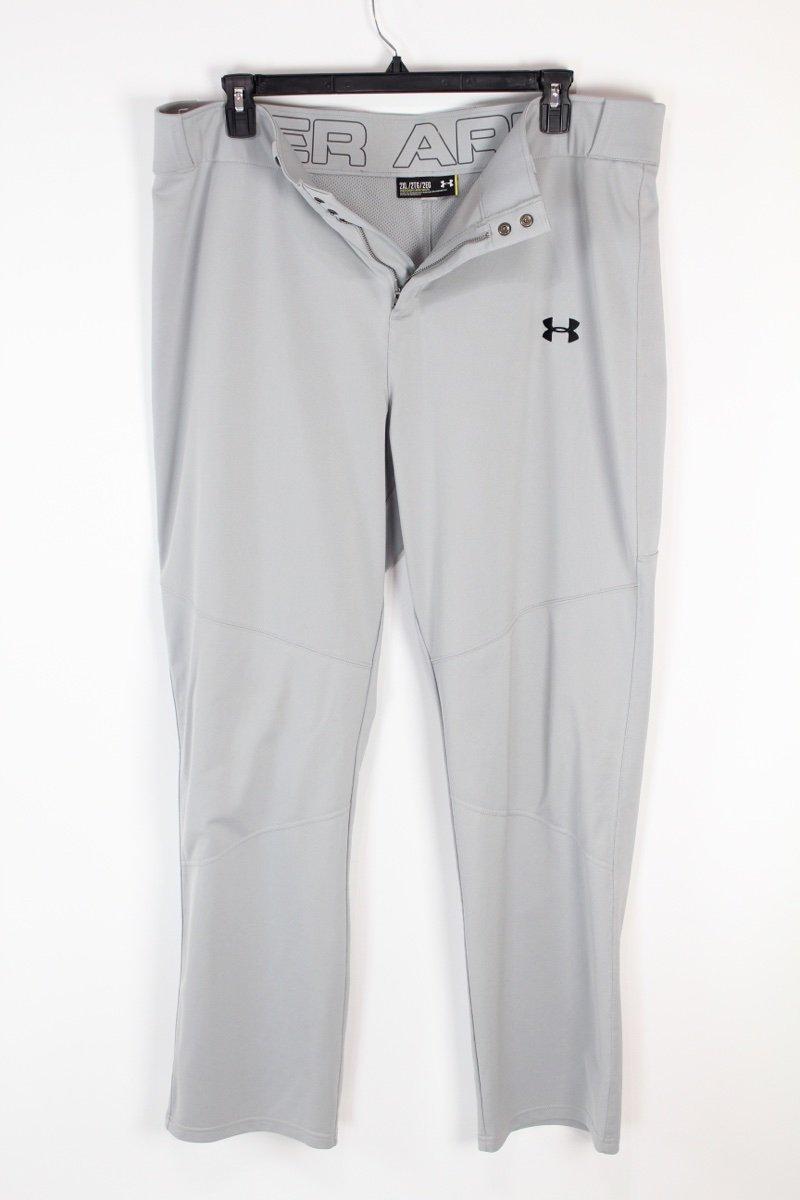 UNDER ARMOUR Adult Men's Leadoff Baseball Pants Open Bottom  Large 1280992