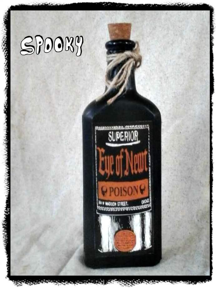 Primitive Halloween Prop Witch Book of Spells Potions Journal Cupboard Tuck
