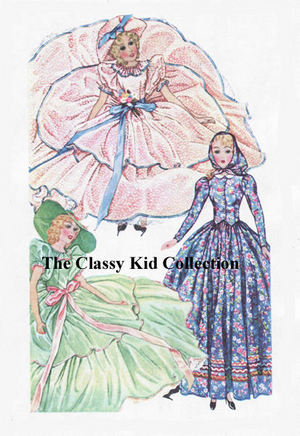 """For 12/""""  Patsy  Doll Clothing Pattern  #442"""
