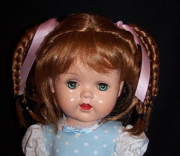"For 16/"" Saucy Walker New Wig in Light Ginger #8"