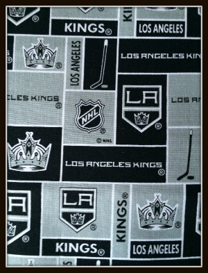 competitive price 7a1ef ee8e0 Details about LA Los Angeles Kings NHL Hockey Baby Infant Newborn Boy Girl  Burp Cloth Cloths