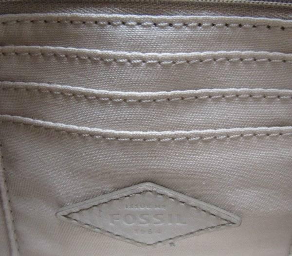 fossil sydney white multi double zip leather crossbody bag zb6678189 nwt 723764490848 ebay. Black Bedroom Furniture Sets. Home Design Ideas