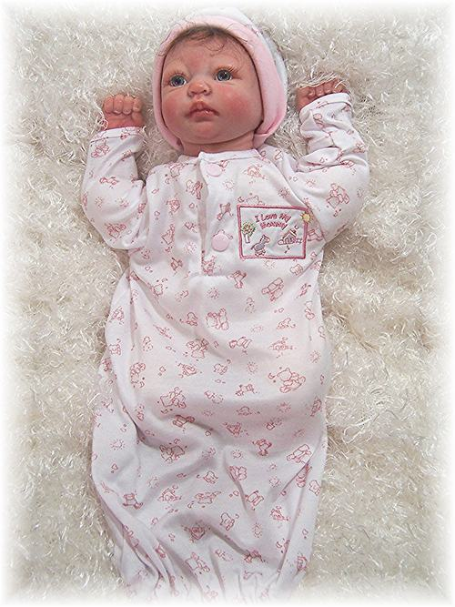 "Reborn Doll  17""-19"" Bag Sleeper Pink"