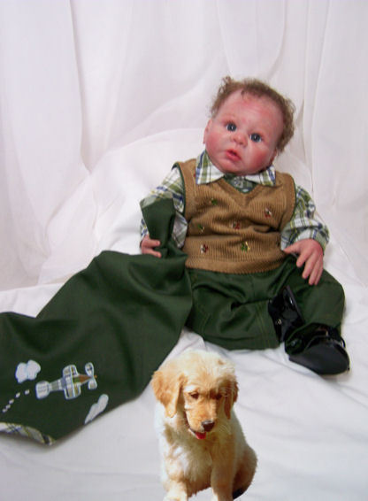 Doll Clothing 4 Peice Boys Dress Outfit