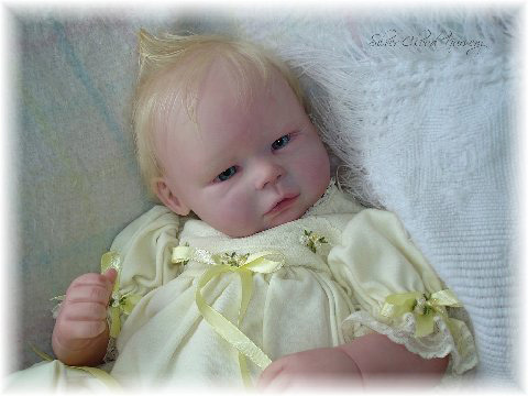 "Reborn Doll Kit ""Chad "" by  Renouned Artist Lisa Gregg"