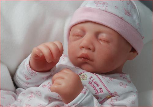 "Reborn Doll Kit 19"" Erin"" 3/4 Limbs by Secrist"