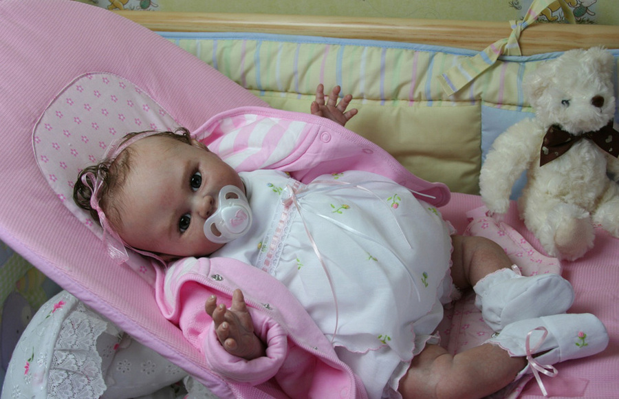 "Reborn Doll Kit ""Lilly ""by Denise Pratt"