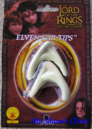 Lord of the Rings Movie Elf Ears Licensed Costume Legolas ...