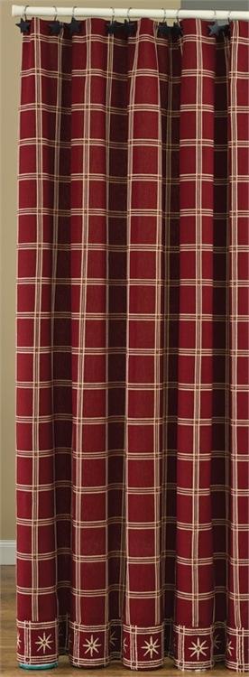 Park Designs Wythe Garden Shower Curtain   #344-45