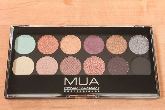 New Rare Mua Makeup Academy 12 Color