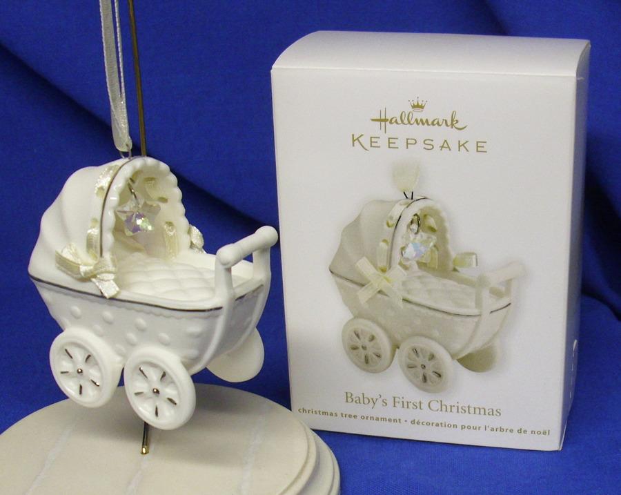 Hallmark Ornament Baby's First Christmas 2011 Porcelain ...