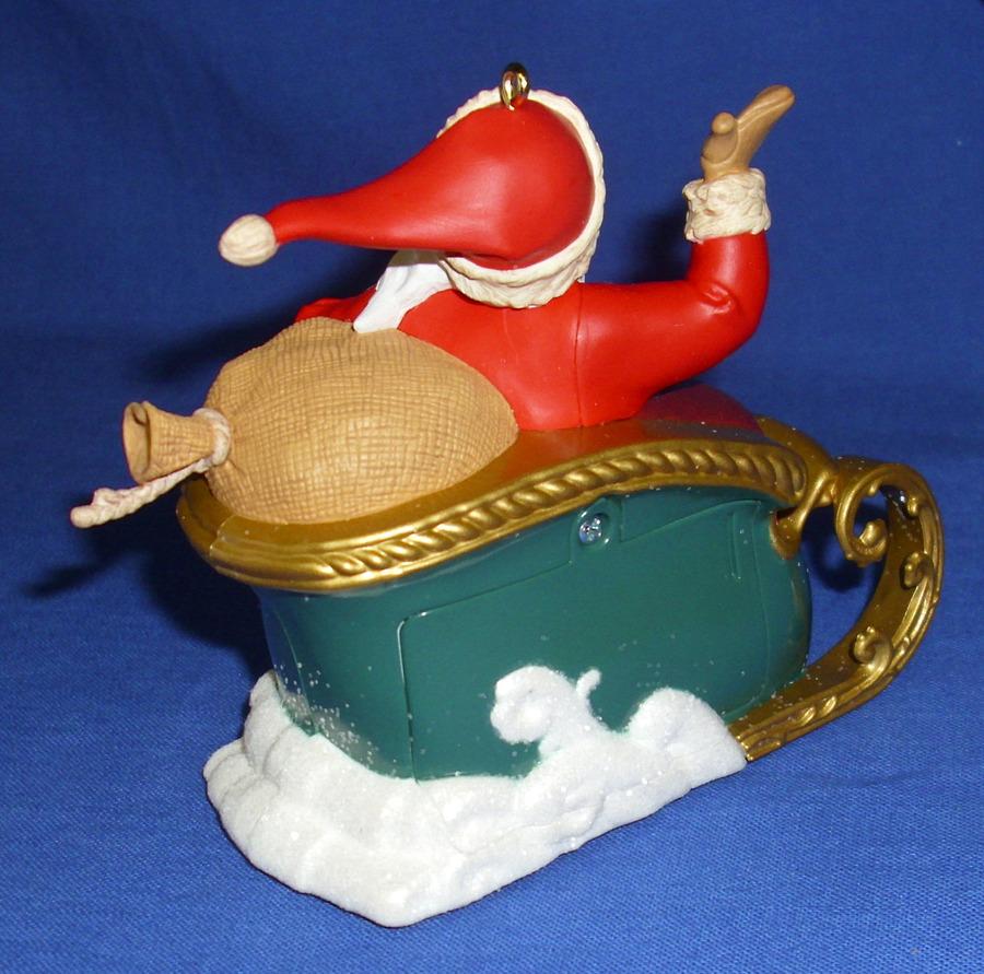 Hallmark Ornament Countdown to Christmas 2012 Santa Sleigh ...