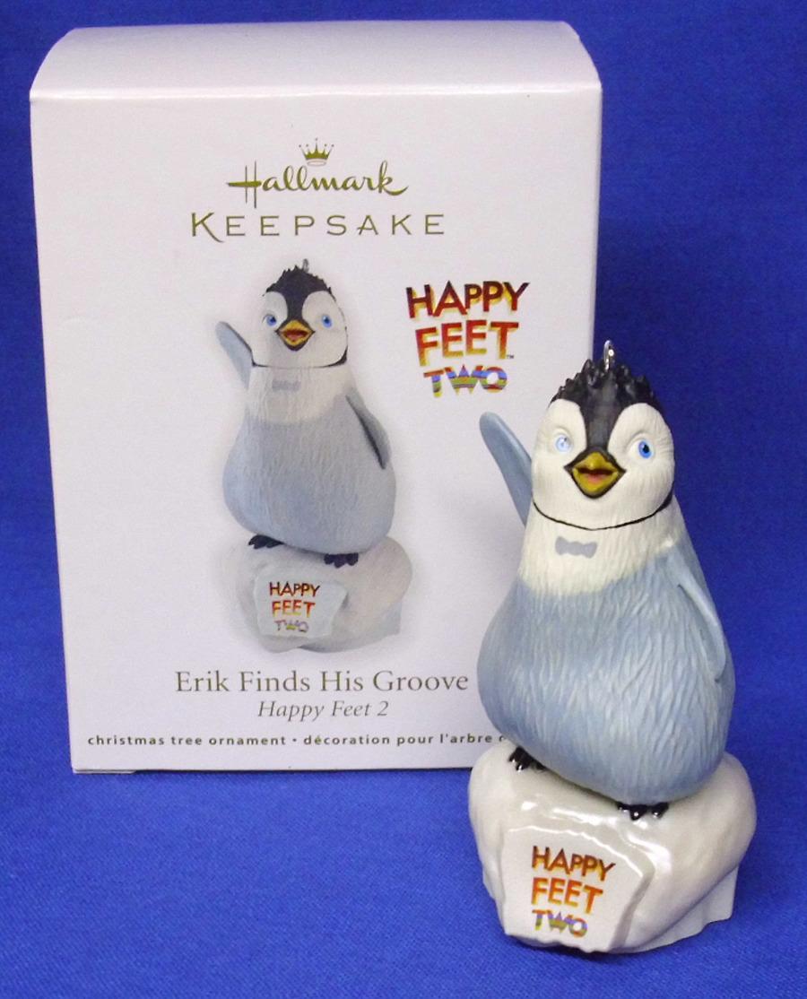 Hallmark Ornament 2012 Erik Finds His Groove Happy Feet Two #QXI2861-DB